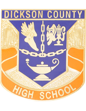 Dickson County High School JROTC Unit Crest