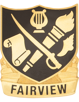 Fairview High School (Fairview) JROTC Unit Crest