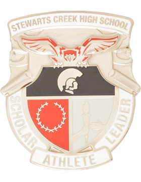 Stewarts Creek High School (Scholar Athlete Leader) JROTC Crest