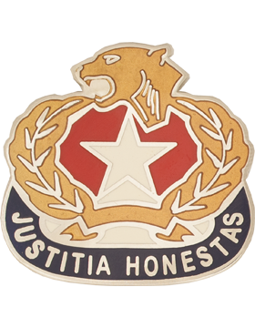 Dr. John Horn High School (Justitia Honestas) JROTC Unit Crest