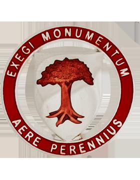 Jacksonville State University (Exegi Monumentum Aere Perennius) ROTC Unit Crest