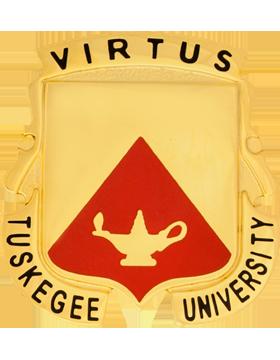 Tuskegee University (Virtus Tuskegee University) ROTC Unit Crest