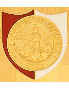 University of Alabama (The University of Alabama 1831) ROTC Unit Crest