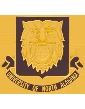 University of North Alabama (Veritas Lux Orbis Terraum) ROTC Unit Crest