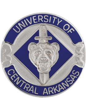 University of Central Arkansas ROTC Unit Crest small
