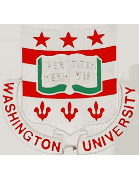 Washington University (Per Veritatem Vis) ROTC Unit Crest