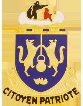 Marquette University (Citoyen Patriote) ROTC Unit Crest