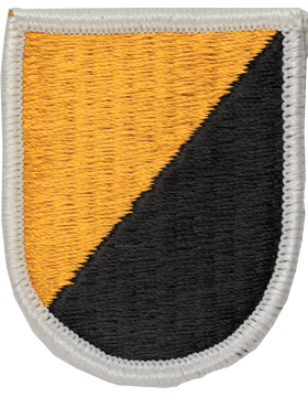 ROTC Flash (RC-F002) Diagonal Gold and Black
