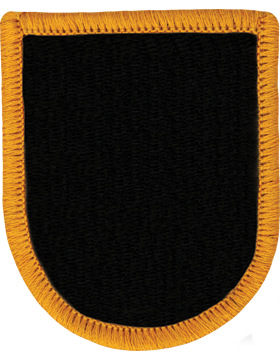 RC-F003, ROTC Flash, Black with Gold Merrow