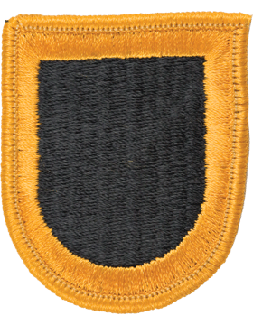 ROTC Flash (RC-F102) Black with Gold Border