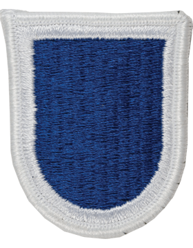 ROTC Flash (RC-F103) Royal Blue with White Border