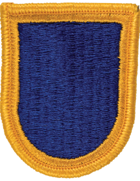 ROTC Flash (RC-F104) Royal Blue with Gold Border