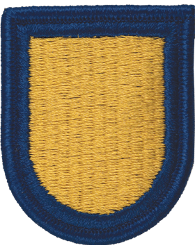 ROTC Flash (RC-F106) Gold with Royal Blue Border