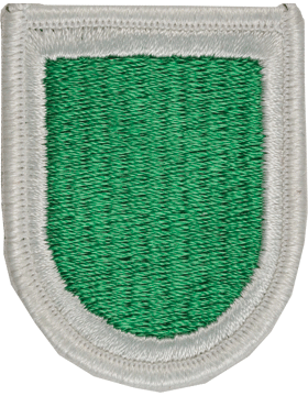 ROTC Flash (RC-F109) Kelly Green with White Border