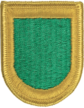 ROTC Flash (RC-F110) Kelly Green with Gold Border