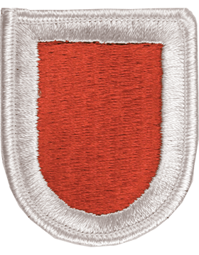 ROTC Flash (RC-F112) Red with White Border