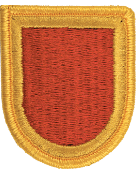 ROTC Flash (RC-F113) Red with Gold Border