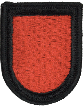 ROTC Flash (RC-F114) Red with Black Border
