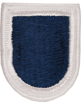 ROTC Flash (RC-F115) Navy Blue with White Border