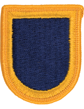 ROTC Flash (RC-F116) Navy Blue with Gold Border