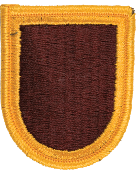 ROTC Flash (RC-F121) Maroon with Gold Border