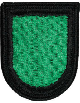 ROTC Flash (RC-F122) Kelly Green with Black Border