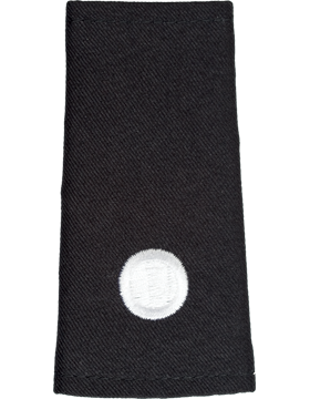 Army ROTC Shoulder Mark (RC-M121/L) Second Lieutenant Male (One Disk) (Pair)