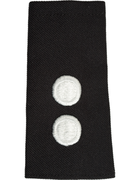 Army ROTC Shoulder Mark (RC-M122/L) First Lieutenant Male (Two Disk) (Pair)