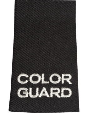 Shoulder Mark Color Guard Special Marks Male (Pair)