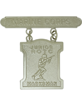 USMC JROTC Marksmanship Badge No Shine Rank