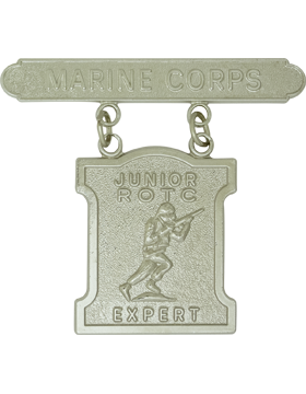 USMC JROTC Expert Badge No Shine Rank