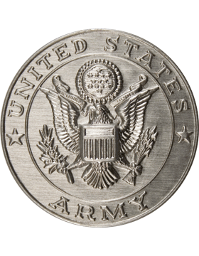 ROTC Medal Insert (RC-MI201B) United States Army Silver 2in