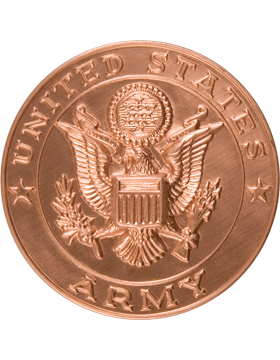 ROTC Medal Insert (RC-MI201C) United States Army Bronze 2in