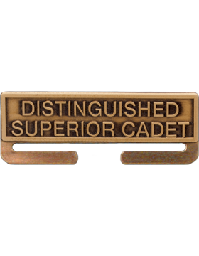 ROTC Bronze Medal Topper (RC-ML-A01) Distinguished Superior Cadet
