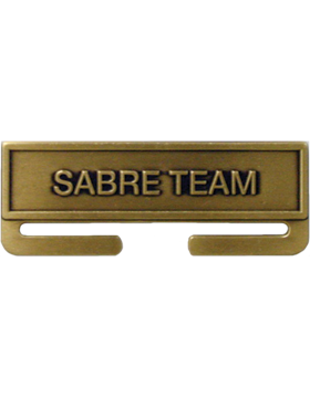 ROTC Bronze Medal Topper (RC-ML-A09) Sabre Team