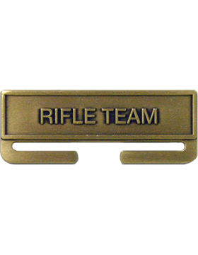 ROTC Bronze Medal Topper (RC-ML-A10) Rifle Team