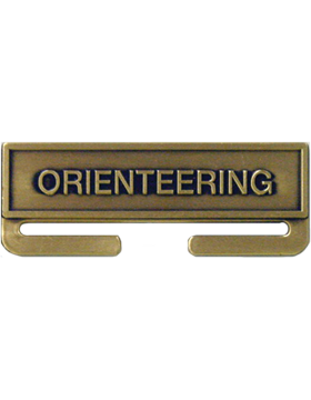 ROTC Bronze Medal Topper (RC-ML-A11) Orienteering
