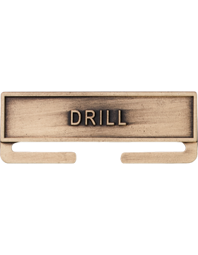 ROTC Bronze Medal Topper (RC-ML-A16) Drill