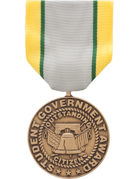 ROTC Medal Box Set (RC-ML-BS105) Student Government Award (N-1-5)