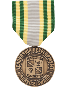 ROTC Medal Box Set (RC-ML-BS106) Leadership Development Service Award (N-1-6)