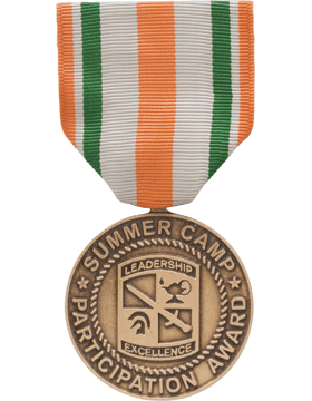 ROTC Medal Box Set (RC-ML-BS141) Summer Camp Participation Award (N-3-11)