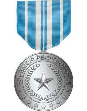 RC-ML-F323, AF Superior Performance Medal Silver Full Size
