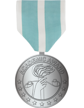 RC-ML-F326, AF Academic Medal Silver Full Size