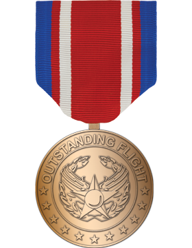 RC-ML-F327, AF Outstanding Flight Medal Bronze Full Size