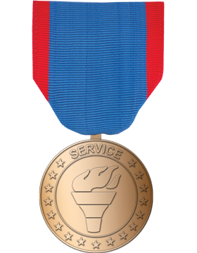 RC-ML-F335, AF Service Medal Bronze Full Size
