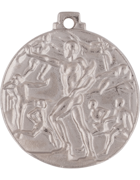 ROTC Medal (RC-ML101B) Second Place Cadet Challenge Silver (Male)