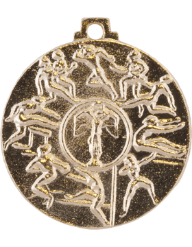 ROTC Medal (RC-ML102A) First Place Cadet Challenge Gold (Female)