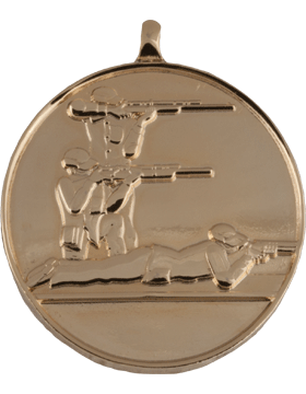 ROTC Medal (RC-ML103A) Three Position Shooting Gold
