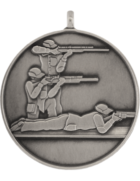 ROTC Medal (RC-ML103B) Third Position Shooting Silver
