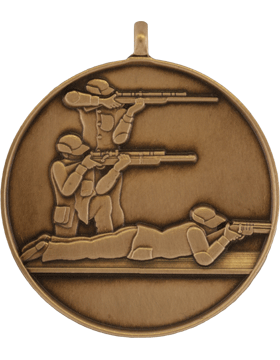 ROTC Medal (RC-ML103C) Three Position Shooting Bronze